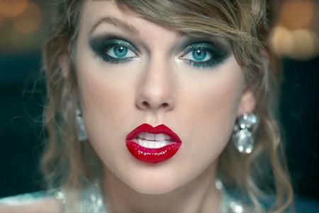Taylor Swift Labios Rojos