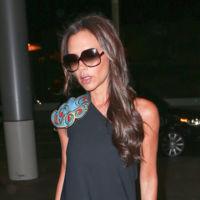 Victoria Beckham y el vestido de su propia colección que por no gustar no le gusta ni a ella misma