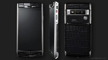 Vertu prepara el Signature Touch, un móvil de 8.000 euros con una cámara certificada por Hasselblad