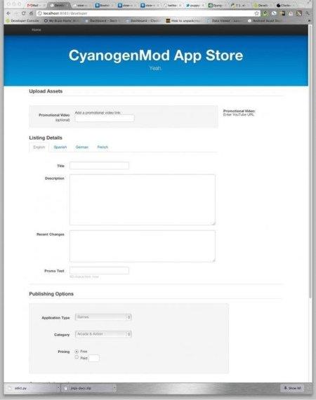 CyanogenMod Tienda