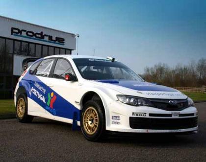 Presentado el nuevo Subaru de Marcus Gronholm