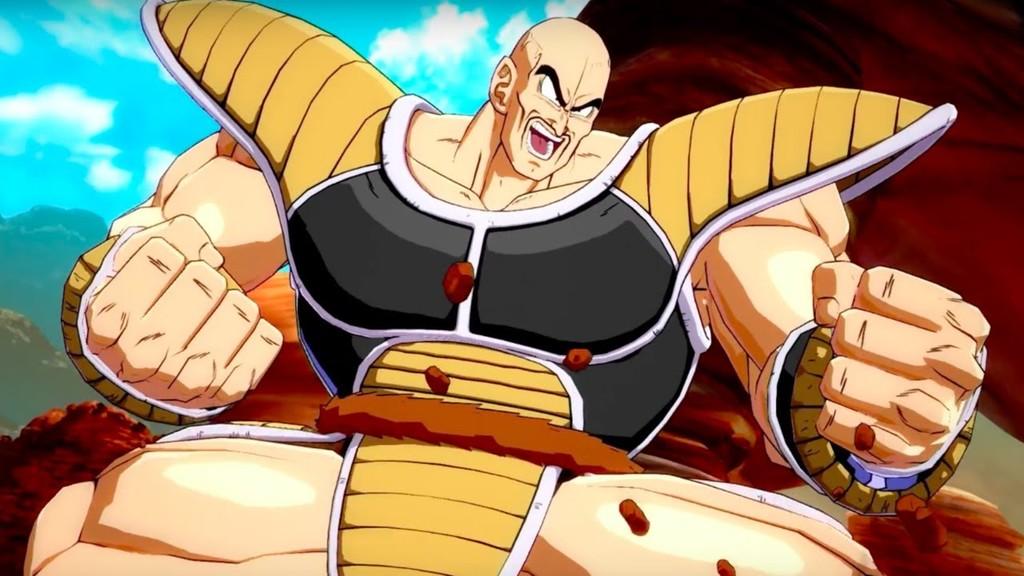 Dragon Ball Fighterz Nappa