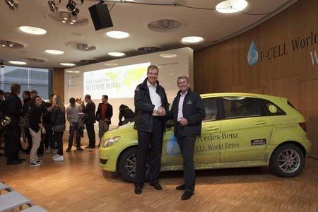 Daimler instalará una red de hidrogeneras en Alemania