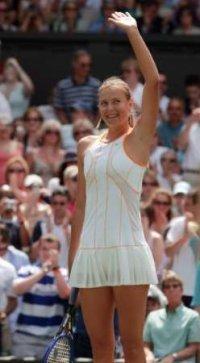 Maria Sharapova portada del Top Spin