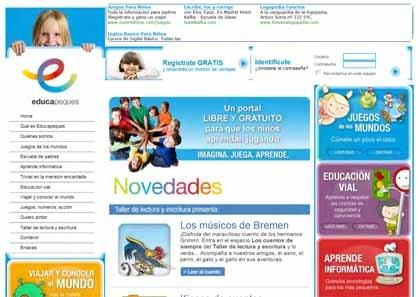 educapeques: un portal para padres e hijos en internet