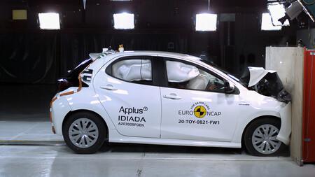 Toyota Yaris Obtiene 5 Estrellas En Las Nuevas Pruebas De Euro Ncap 5