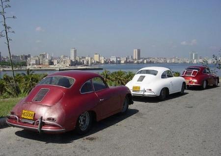 Porsche 356 en La Habana