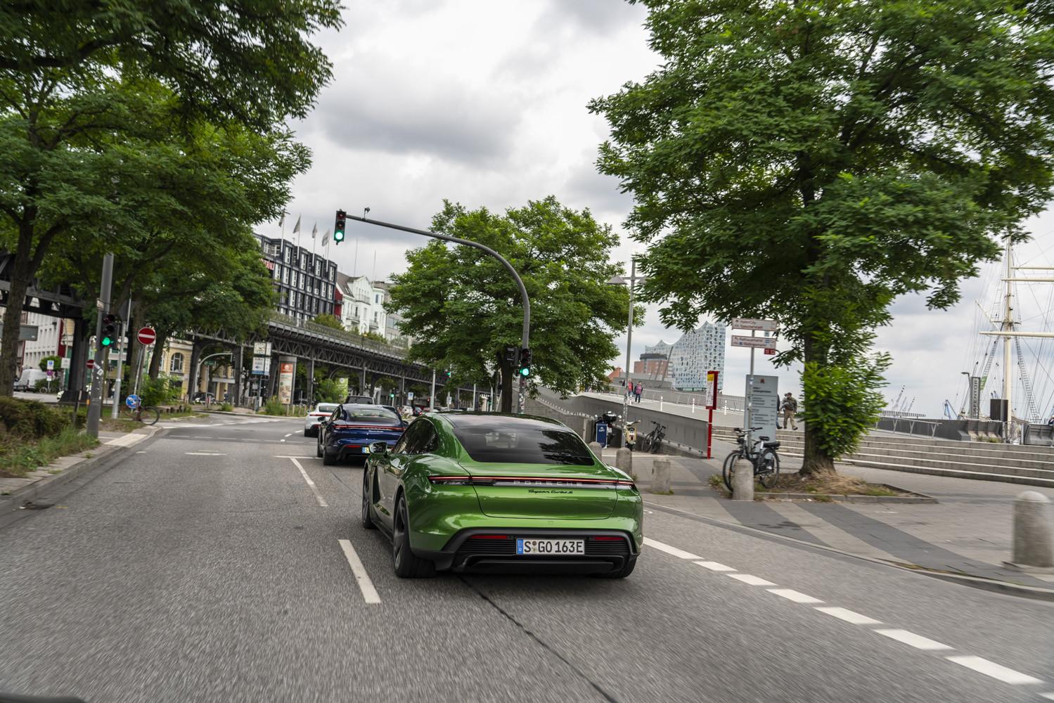 Foto de Porsche Taycan prueba contacto (137/275)