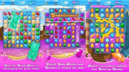 Candy Crush Soda Saga llega a Windows 10 como una aplicación universal