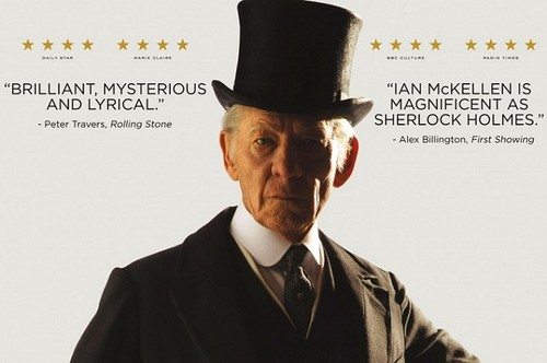'Mr. Holmes', McKellen es un gran Sherlock en una película fallida