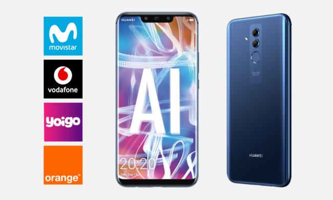 Dónde comprar el Huawei Mate 20 lite más barato: comparativa mejores ofertas con operadores