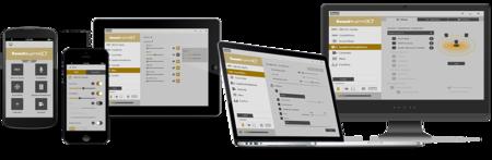 Podemos configurar el X7 desde iOS, Android, Mac OS X y desde Windows