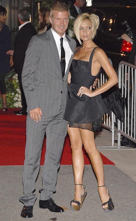 David Y Victoria Beckham 20 Aniversario Boda 2007 2