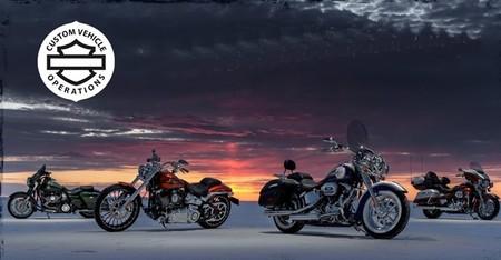 Harley-Davidson, novedades CVO para 2014
