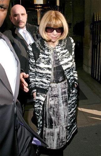 El front-row de Balenciaga Otoño-Invierno 2010/2011 en la Semana de la Moda de París