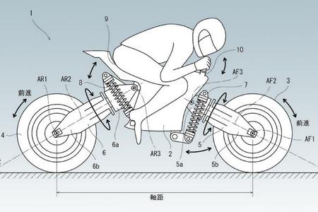 Kawasaki Patente Ruedas