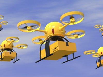 """Drones mensajeros: """"no se tuercen el tobillo, no se cansan y no crean sindicatos"""
