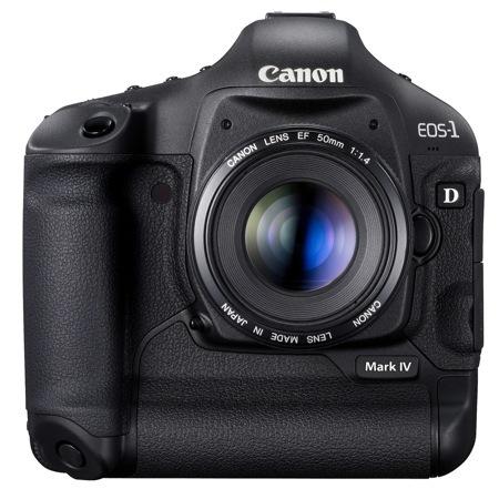 Canon 1D Mark IV se presenta con mucho músculo y grabación de vídeo