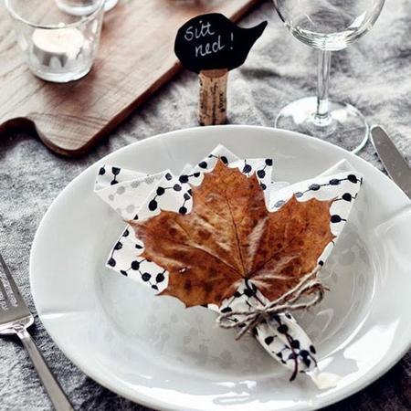 Sencillas y originales maneras de poner la mesa para invitados