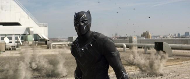 Chadwick Boseman es Black Panther