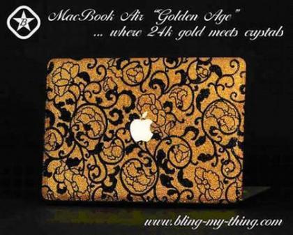 """MacBook Air edición limitada """"Golden Age"""""""