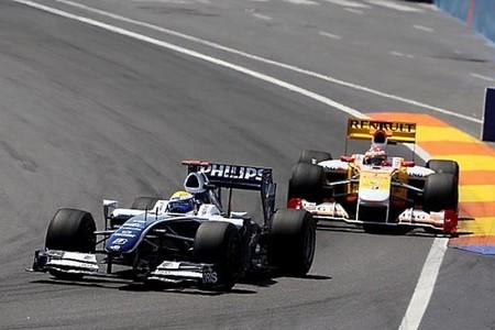 Notable sexta posición de Fernando Alonso en el GP de Europa