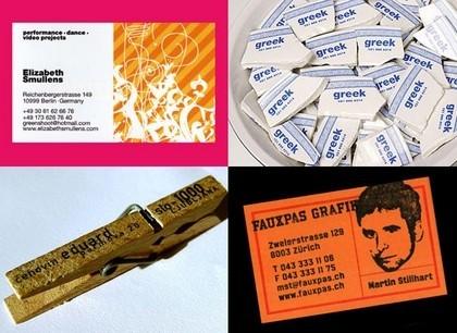¿Te atreves a diseñar tus tarjetas de visita?