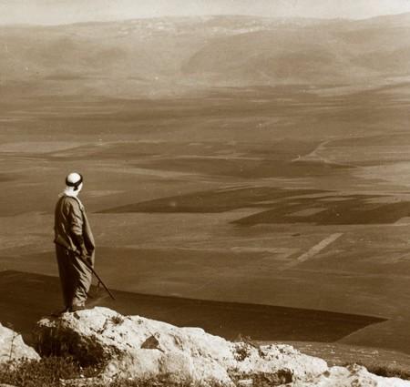 Vista Desde El Monte Moreh Hacia El Valle En Direccion Narazet