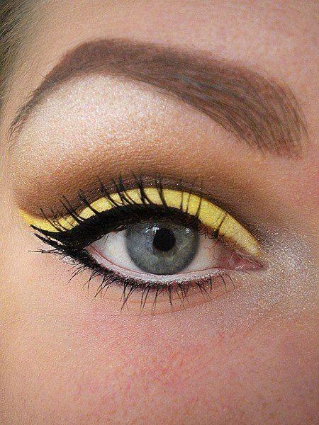 Eyeliner Amarillo 2
