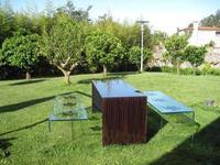 Muebles de jardín en vidrio.  ¿Te atreves?