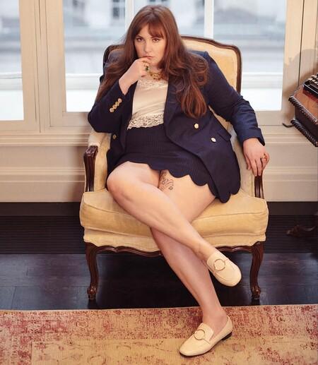 """Lena Dunham diseña una colección de ropa plus size y critica el movimiento body positive: """"ahora queremos culos y pechos grandes pero bonitos y sin celulitis"""""""