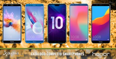 Honor 10, así encaja dentro del catálogo completo de smartphones Honor en 2018