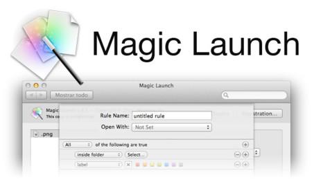 Magic Launch, estableciendo reglas a la apertura de archivos