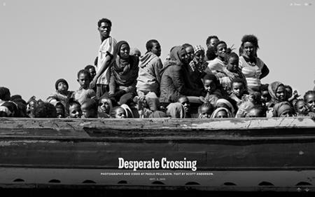 Desperate Crossing Immersive Storytelling Twitter