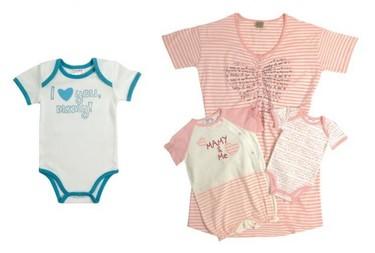 Bodys, pijamitas y camisón de lactancia para el Día de la madre