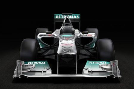 La primera imagen del Mercedes W02