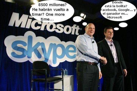 La imagen de la semana: Microsoft compra Skype