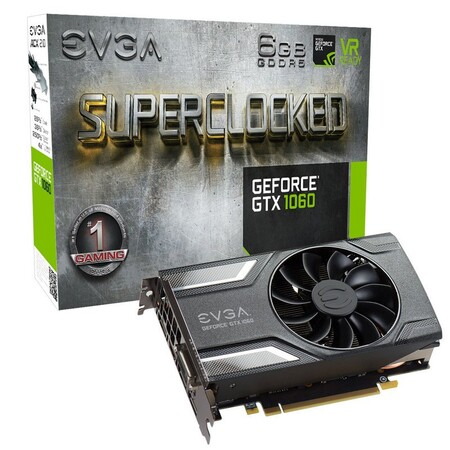 Evga Geforce Gtx 1060 Sc Gaming 6gb Gddr5