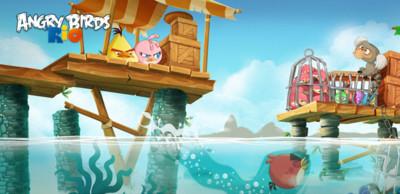 Angry Birds Rio 2 para Android, 20 nuevos niveles con nuevos gráficos