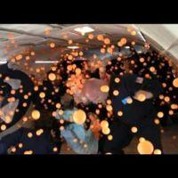 [Vídeo] 2.000 pelotas de ping pong en gravedad cero