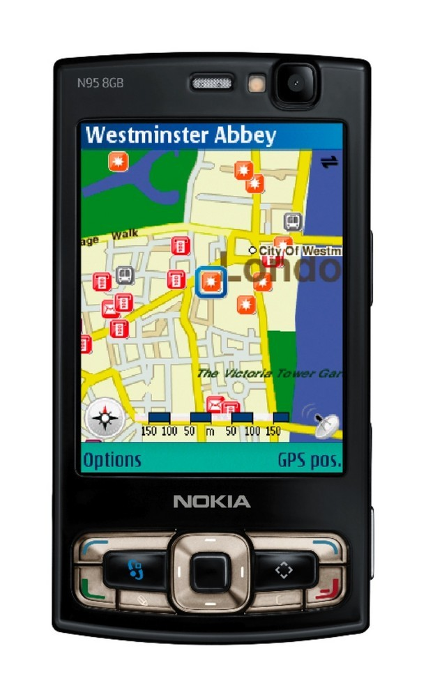 Foto de Nokia N95 de 8 GB (1/8)