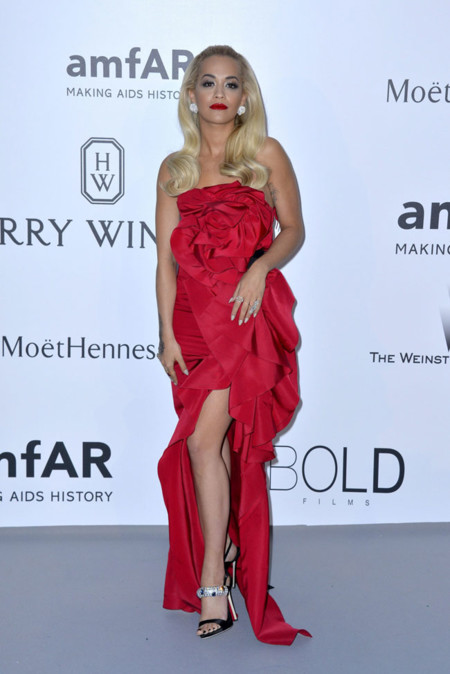 Rita Ora Amfar Cannes 2015
