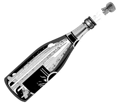 Dibujo Botella