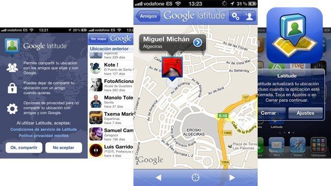Google Latitude regresa a la App Store