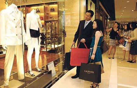 Chinos de compras en Paris