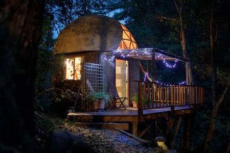 El alojamiento más visitado de la primera década de Airbnb es una cabaña de 9 metros cuadrados