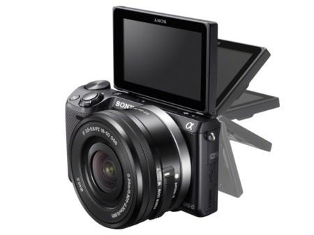 Sony NEX5T pantalla abatible