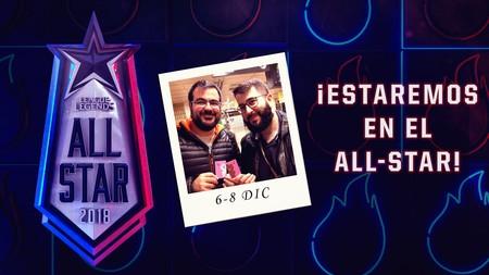 """Alexelcapo y Felipez360 son los """"fieros"""" representantes de España en el All Star 2018 de League of Legends"""