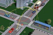 Intercambio de información entre vehículos para prevenir accidentes