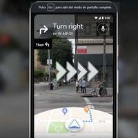 Google Maps estrena la realidad aumentada para facilitar la navegación